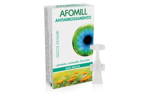 afomill antiarrossamento 10 flaconcini 5 ml