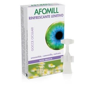 afomill rinfrescante 10 flaconcini 5 ml