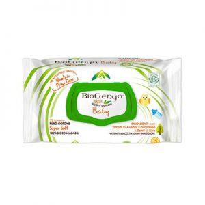 biogenya salviettine baby cotone 72 pezzi