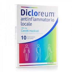 dicloreum antinfiammatorio 10 cerotti medicati 180 mg