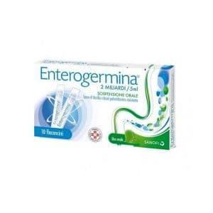 enterogermina 10 flaconcini 2 miliardi 5 ml