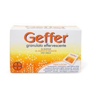 geffer effervescente 24 bustine 5 g