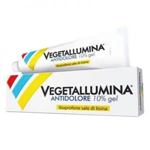 vegetallumina antidolore gel 50g 10%