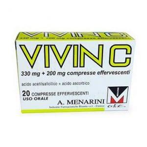 vivin c 20 compresse effervescenti 330 mg + 200 mg
