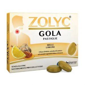 zolyc gola miele e limone 24 pastiglie